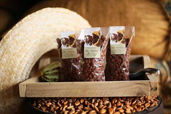 grains de café cacao Guadeloupe